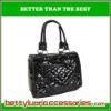 BRIGHT BLACK PU BAG
