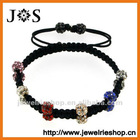 Fashion Jewelry Round Crystal Bead Shamballa Jewelry Handmade Bracelets