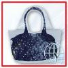 delicate PP woven beach bag
