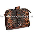 Cheetah print camera bag