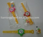 Light toy candy with watch