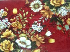 100% polyester printed velvet fabric for upholstery