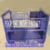 FOLDING METAL STORAGE BOX