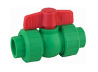 PP-RC Rue union ball valve