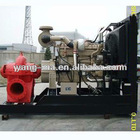 70KW 400m3/h 25m lift head fire fighting centrifugal swage perkins 6inch diesel water pump