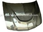carbon fiber hood ,carbon fiber bonnet for EV0 5-6th 98-99 single hole