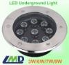 9W Outdoor LED Underground Paving Light