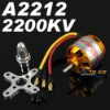 RC Outrunner Brushless Motor 2212-6 2200KV