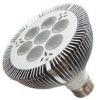 HIGH POWER LED PAR E27 14W(7*2W)/pure aluminum