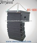 4inch active mini line array,pro loudspeaker,PA system (RS-400)