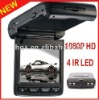 1080p H.264 Car Dvr Recorder with 4IR Led Night Vision