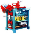 Hollow Fixed Concrete Block making Machinery with molds (QMJ4-35)