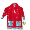 kids printed raincoat
