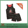 newest two sides dressing basketball uniform design 2011