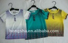 children t-shirt top quality in 3 colors E68015 in stock