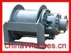 Electric Hydraulic Marine Shipyard Winch or Logging Towing Winch