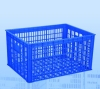 hdpe colorful plastic turnover basket DX-A2