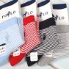 children strip cotton socks