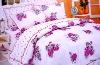 Comfortable seersucker bedding set