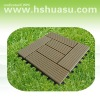 eco-friendly wood plastic composite decking/floor tile/deck tile/composite deck
