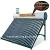 Pre-heated pressurized solar water heater