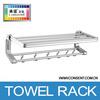 Aluminum towel rack