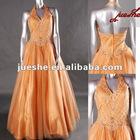 Affordable Designer Beaded Halter GIRL'S Evening Dress
