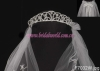 princess crown with veil/communion veil