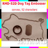 Dog Tag Embosser /52characters