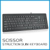 Scissor structure chocolate slim keyboard