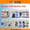 USB flash drive TZ-USB301H Ceramic USB disk Ceram material