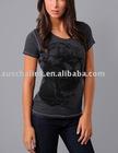 8T155Lady's fashion t-shirt