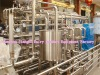 Tubular milk pasteurization machine