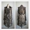 python trench coat