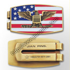 Golf Money Clip with Custom Design