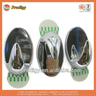 various electroplated plastic adhesive hook,