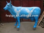 resin cow sculpture