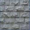 chiniese cheap grey/yellow granite wall cladding