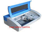 mini laser engraving machine with CO2 laser Tube for stamp