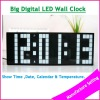 Led Big Digital Home Decoration Wall Clock