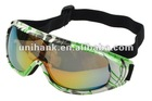 New style popular 2012 high quality anti-fog snow glasses