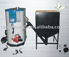 Vertical wood fired steam boiler