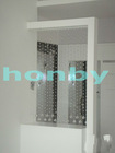 Freely style clear color crystal chain curtain room dividers