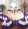 Table cloth 2010 new jacquard&plain poly/cotton home textile
