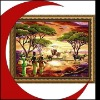 Fashion present,Digital painting,Handmade oil painting,Handcrafts-Home decoration