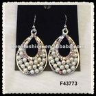 alloy diamond fashion earrings F43773