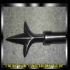 2012 new wronght iron curtain finial LT-MR002