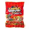 fruit bubble gum lollipop