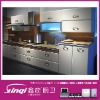 beech wooden kitchen cabinet