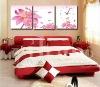 2012 latest modern flower oil painting